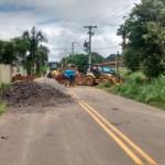 Obras começaram nesta sexta; motoristas devem usar como alternativa a passagem pela Av. Nilton Pena Botelho (Foto: Cedida pela PMP)