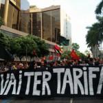 Na rua: Protestos começaram de forma pacífica nas ruas do Rio (Foto: Divulgação)