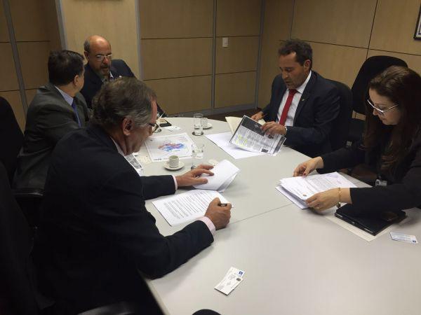 Reunião tensa: Deley e João Thomaz argumentaram, mas ICMBio é favorável a RPPN na Cicuta