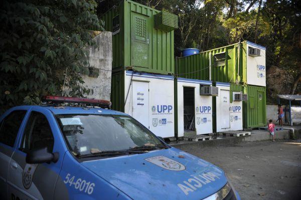 Local: Sede da UPP onde pedreiro teria sido torturado e morto (Foto: ABr)