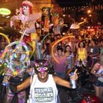 Animada: Mesmo com corte de gastos, Carnaval em Angra dos Reis atraiu grande número de foliões (Foto: Divulgação)
