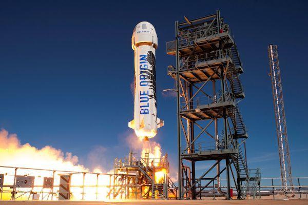 Sucesso: O Blue Origin pousou em sua base no Texas