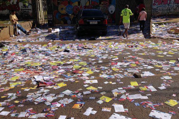 Possibilidade: Com menos dinheiro para campanha, quantidade de 'santinhos' pode diminuir (Fotos Públicas)