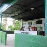 Em disputa: Clube localizado no Barreira Cravo é uma área tradicional de recreação e lazer (Foto: Paulo Dimas)
