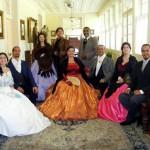 Quinteto Imperial: Grupo lírico faz apresentação em forma de sarau (Foto: Divulgação)
