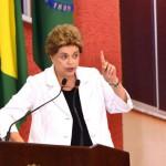 Versão: Dilma diz que quem quer tirá-la do poder pode atingir direitos da população