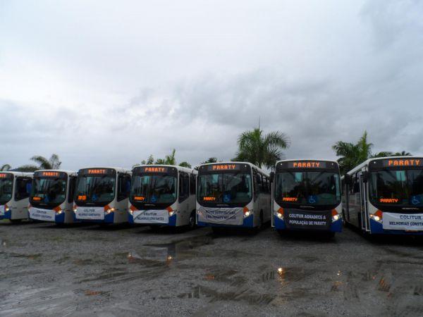 Avança: Novos ônibus vão melhorar transporte público em Paraty