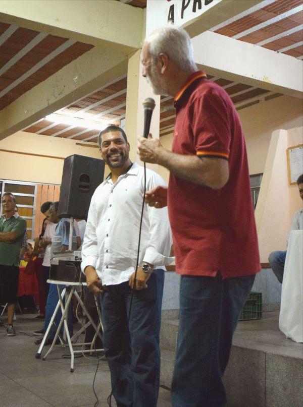 Aliados: Paiva afirma que votar em Jari foi sua melhor escolha