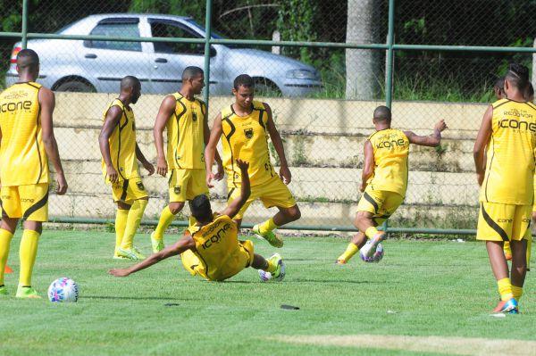 Metas: Volta Redonda treina visando partida decisiva de domingo