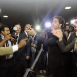 Nervos: Atos contra e a favor da presidente Dilma marcaram entrega de pedido de impeachment