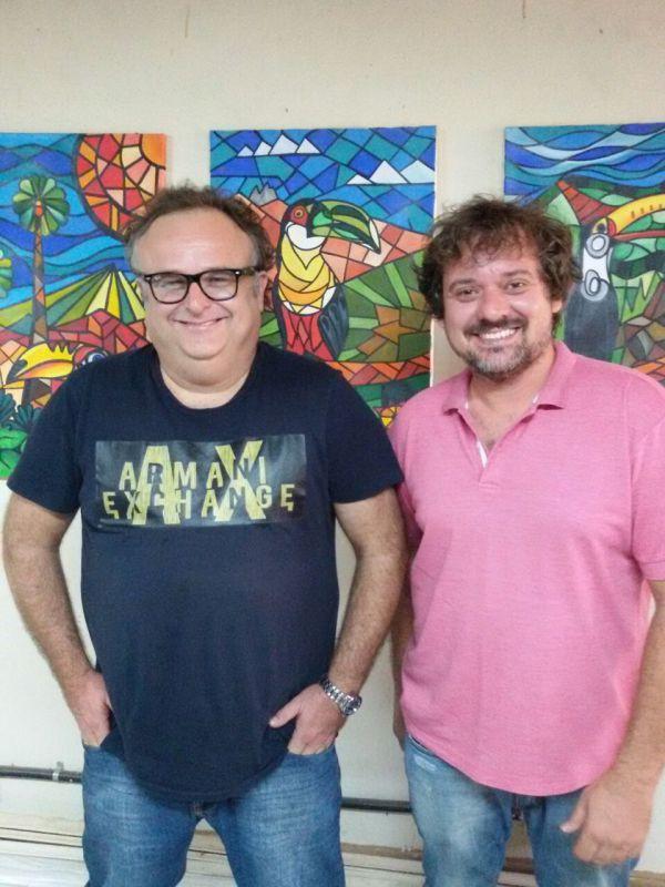 Juntos: Lucas Mello (à esquerda) e Rafael Fioratto se colocam como renovação no cenário político