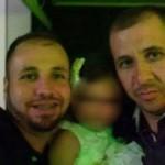 Vítima: (Da esquerda para a direita) João Carlos e o irmão Eleandro foram encontrados mortos com sinais de tortura no Rio Paraíba do Sul, em Valença