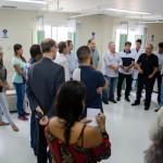 Saúde: Visita contou com secretários municipais, vereadores e de representantes da Santa Casa de Barra Mansa (Foto: Divulgação)