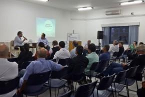 Fórum Permanente das Entidades Empresariais de Volta Redonda se reúne com Nelson Gonçalves