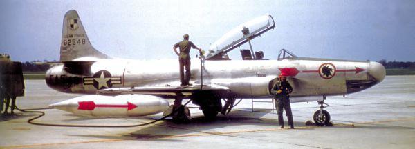 1952: Caça Starfire perseguiu luzes em Washington (Fotos: Divulgação)