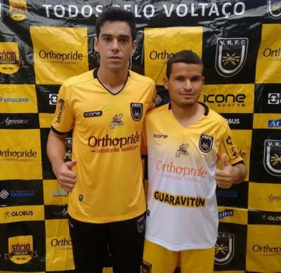 Chegando: George e Osmar já estão integrados ao elenco que disputará o nacional