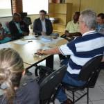 Em debate: Saúde em Porto Real foi discutida e novo secretário de Saúde, Fábio Schneider (no centro da foto) apresentado ao conselho (Foto: Divulgação PMPR)