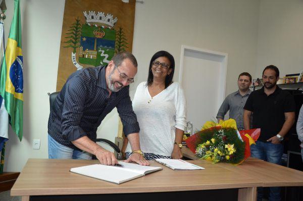 José Roberto vai assumir a prefeitura durante licença de Cida para cuidar da saúde (foto: PMPR)