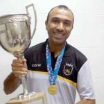 Campeão: Felipe Surian conquistou títulos no ano passado pelo Voltaço e volta ao comando do time neste domingo