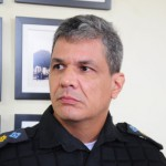 Troca de comando: Tenente-coronel Damião Portella assumiu o 28º BPM no lugar o coronel César Augusto Rosa (Foto: Paulo Dimas)