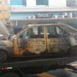 carro destruido