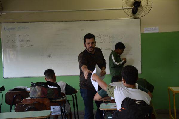 Mais educação: Professores municipais que participam do GIDEP recebem gratificação na aplicação de provas (Foto: Divulgação PMPR)