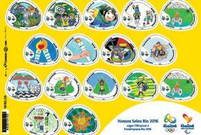 Correios e Comitê Rio 2016 lançam no Rio novos selos dos Jogos Olímpicos