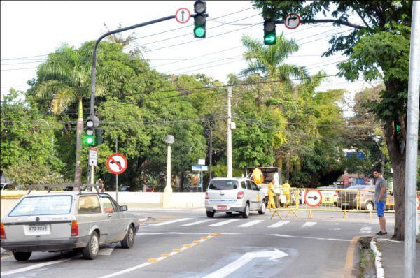 Mudança à vista: Cruzamento entre as ruas 41 e 43 será alterado para melhorar fluxo de veículos em horários de pico (Foto: Divulgação PMVR)