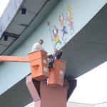 Anderson de Souza diz que obra permanente alusiva à passagem da Tocha Olímpica pelo município (foto: ACS)