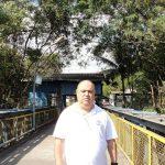 No local: Silvio Campos foi conferir a reabertura da entrada para a CSN no Retiro