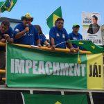 """Movimento """"Vem Pra Rua Volta Redonda"""" faz ato em apoio a Sérgio Moro (foto: André Aquino (Sinduscon)"""