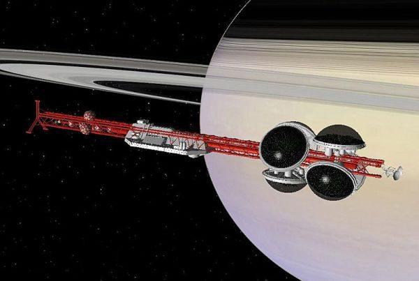 Celestia: A Valley Forge nos anéis de Saturno (Foto: Divulgação)