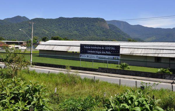 O Cefet se localiza no Parque Mambucaba e tem hoje mais de 600 alunos (foto: Divulgação)