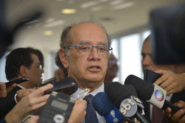 Preocupado: Gilmar mendes acredita em grande volume de processos por  causa dos prazos curtos das eleições (Foto: Agência Brasil)