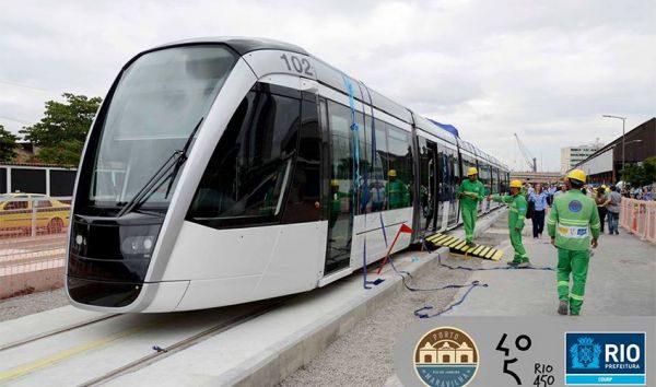 Ótimo: O VLT já está circulando pela cidade