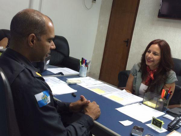 Diálogo: Deputada conversa com comandante da PM sobre combate à criminalidade