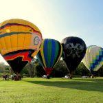 Balões: Resende receberá diversas equipes do esporte na Aman e no Recinto de Exposições Francisco Fortes Filho (Foto: Divulgação)