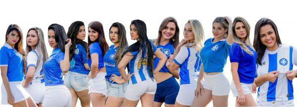 Musa do Leão do Sul 2016: Doze candidatas estão na final do concurso (Foto: Divulgação)