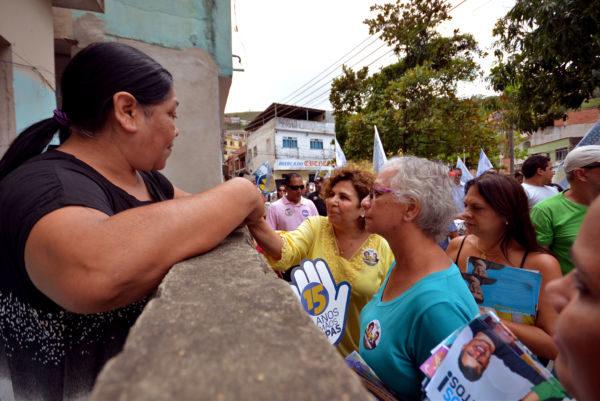 Planos: América Tereza afirma que mulheres estão se identificando com a campanha (Foto: Divulgação)