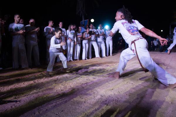 Primeira edição: Evento contará com a presença de 500 capoeiristas vindos de 35 municípios de todo o Estado (Foto: Duda Guedes)