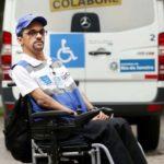 Rio de Janeiro 08-09-2016. Governo incentiva contratação de pessoas com deficiência. Marcio da Silva Alcantara, agente da Lei Seca. Foto: Carlos Magno