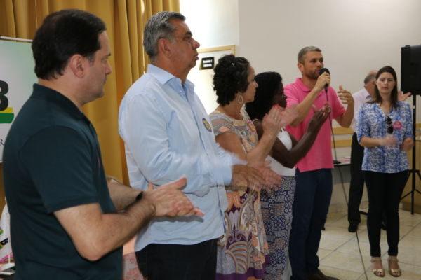Trabalho coletivo: Rodrigo afirmou que seu plano de governo é resultado de esforço de equipe
