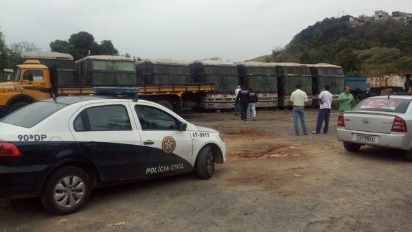 (Foto: Enviada via WhatsApp) Polícia Civil já está no local; Esquadrão Antibomba foi chamado