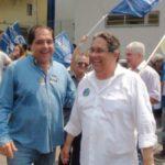 Em campanha: Nelson Gonçalves defendeu a retomada do crescimento econômico da cidade (Foto: Divulgação)