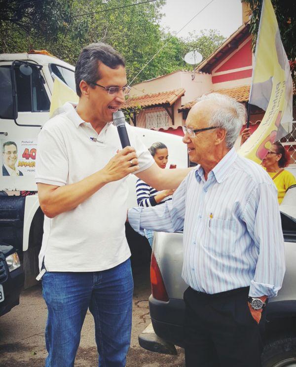 Laerce discorda do posicionamento de seu partido e declara voto em Arimathéa (foto: divulgação)
