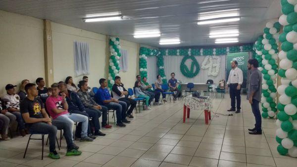 Samuca também pretende implementar o projeto 'Upinha-24 horas', caso seja eleito (foto: André Aquino - Assessoria de Comunicação)