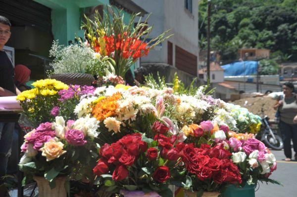 Venda de flores: Finados só perde para o Dia das Mães e Dia dos Namorados (Foto: Arquivo)