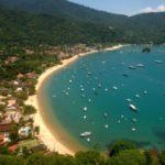 Intervenções na Vila do Abraão, na Ilha Grande, em Angra dos Reis, têm previsão de término em julho do ano que vem (foto: Luiz Fernando)