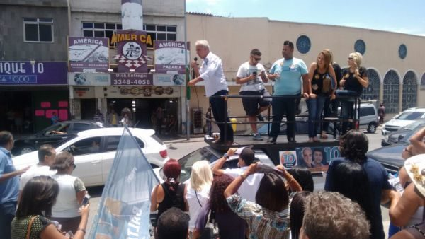 Baltazar percorreu diversas localidades neste sábado (Foto: Divulgação)