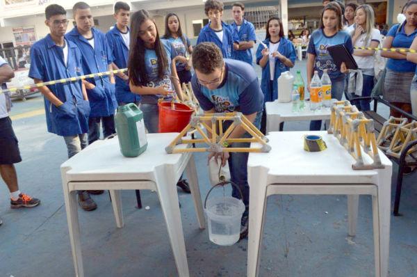 Exposição: Feira é uma oportunidade de alunos mostrarem na prática o que pensam para o futuro (Foto:Divulgação)